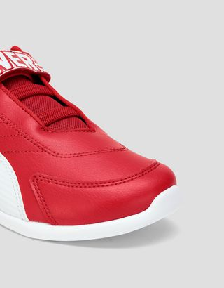 Scuderia Ferrari Online Store - Boys' Puma Scuderia Ferrari Kart Cat III V Shoes - Active Sport Shoes