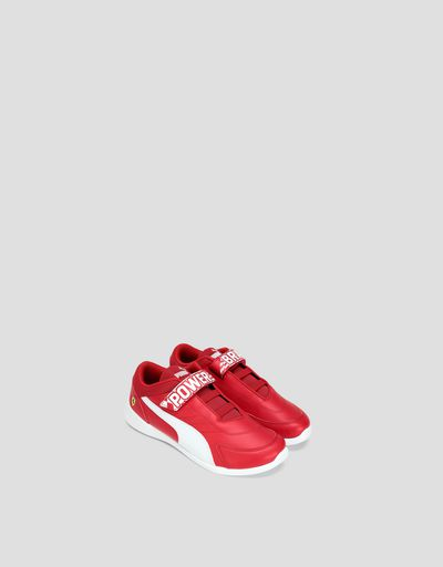 Boys' Puma Scuderia Ferrari Kart Cat III V Shoes