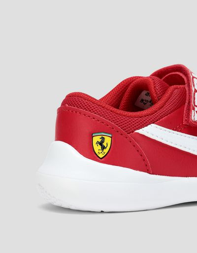 Scuderia Ferrari Online Store - Puma Scuderia Ferrari Kart Cat III V shoes for infants - Active Sport Shoes