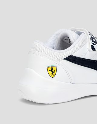Scuderia Ferrari Online Store - Puma Scuderia Ferrari Kart Cat III V shoes for boys - Active Sport Shoes