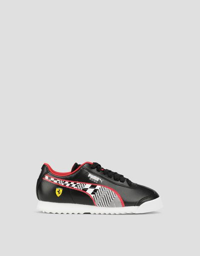 Boys' Puma Scuderia Ferrari Roma Shoes