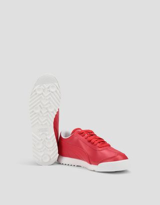 Scuderia Ferrari Online Store - Boys' Puma Scuderia Ferrari Roma Shoes - Active Sport Shoes