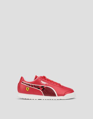 Scuderia Ferrari Online Store - Puma Scuderia Ferrari Roma shoes for boys - Active Sport Shoes