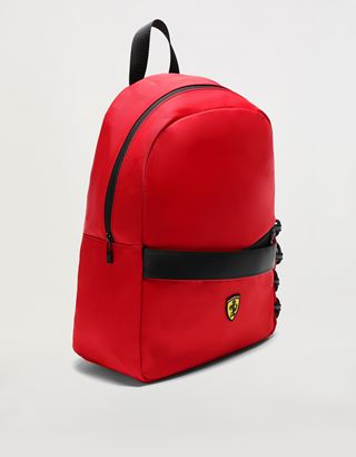 Scuderia Ferrari Online Store - Institutional backpack with Shield - Regular Rucksacks