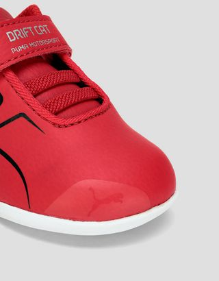Scuderia Ferrari Online Store - Puma Scuderia Ferrari Race Drift Cat 8 V shoes for infants - Active Sport Shoes