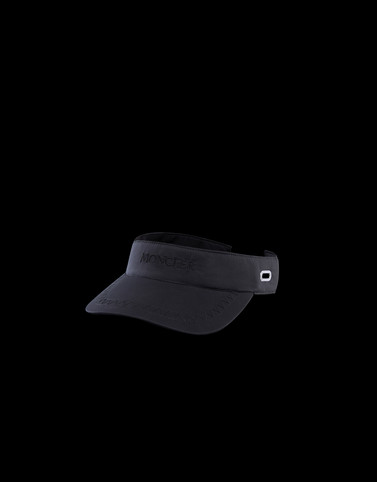 VISOR Black Category VISORS Man