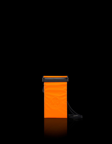 PHONE CASE Orange Small leather goods Man