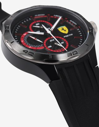 Scuderia Ferrari Online Store - Black Pista multifunctional watch - Quartz Watches