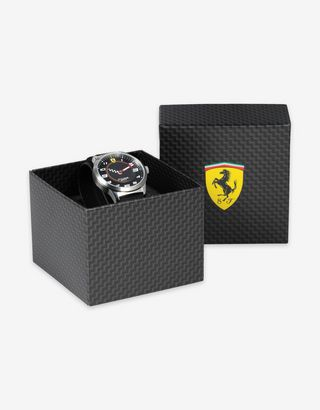 Scuderia Ferrari Online Store - Boys' black Pitlane watch - Quartz Watches