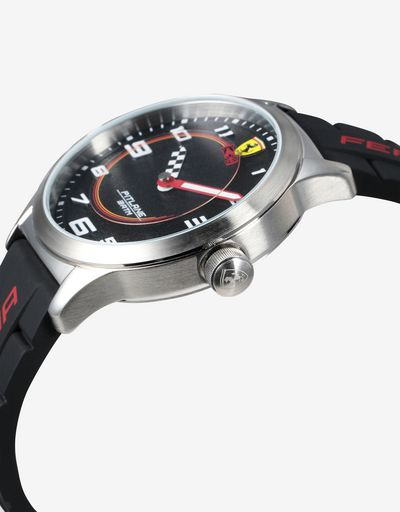 Boys' black Pitlane watch