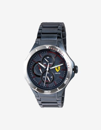 Blue steel Pista multifunctional watch