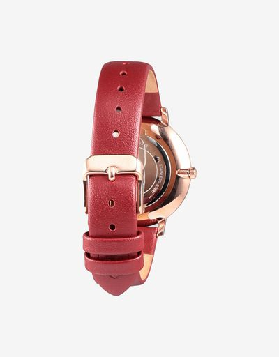 Scuderia Ferrari Online Store - Women's Ultraleggero watch with rose gold colour case and crystals - Quartz Watches