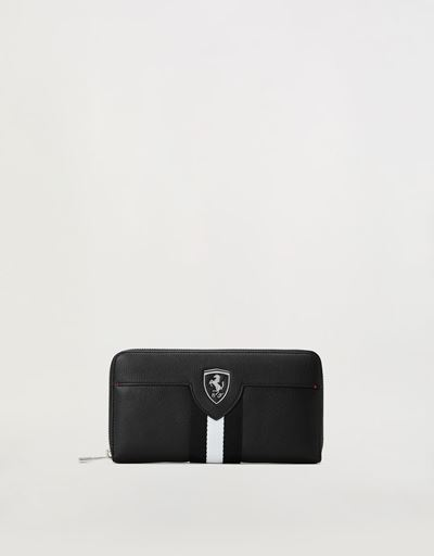 Evo Livery wallet with all-around zip closure