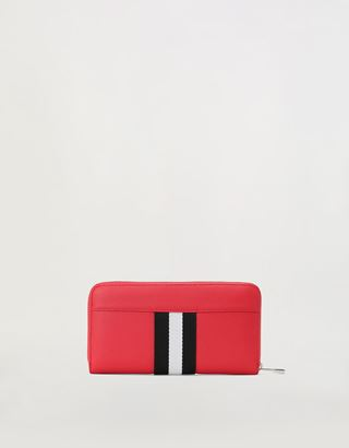 Scuderia Ferrari Online Store - Evo Livery wallet with zip-around closure - Zip-around Wallets