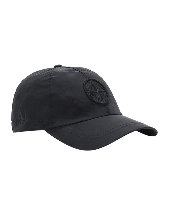 STONE ISLAND 99575 NYLON METAL Cap Man Black