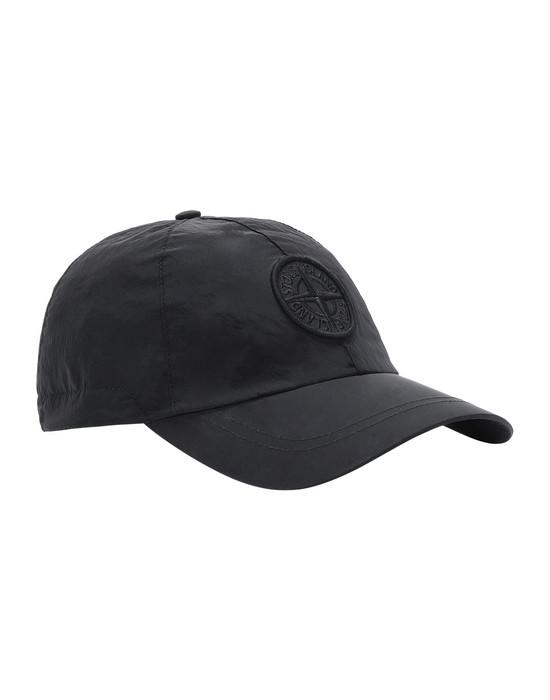 STONE ISLAND 99575 NYLON METAL Cappello Uomo Nero