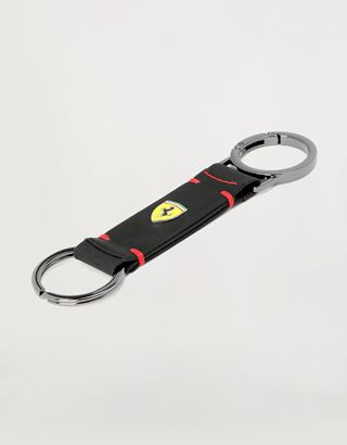 Scuderia Ferrari Online Store - Hyperformula double ring keychain, Made in Italy - Keyholders