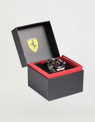 Scuderia Ferrari Online Store - Steel Pista multifunction watch - Chrono Watches