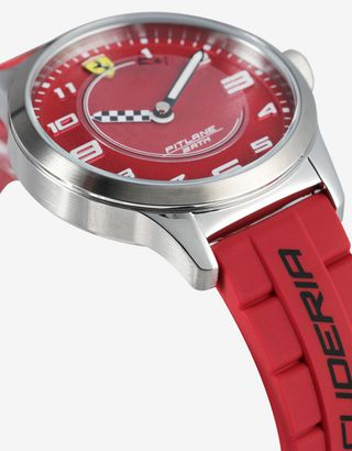 Scuderia Ferrari Online Store - Pitlane children's watch with two silicone straps - Quartz Watches