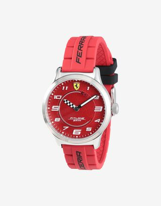 Scuderia Ferrari Online Store - Boys' Pitlane watch with interchangeable silicone straps - Quartz Watches