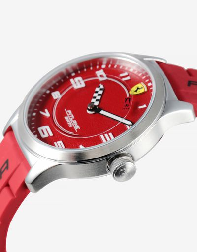 Pitlane children's watch with two silicone straps