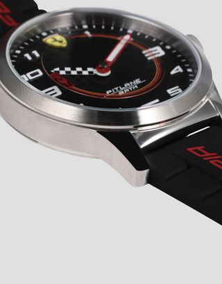 Scuderia Ferrari Online Store - Pitlane children's watch with Ferrari Enzo 1:64 scale model - Quartz Watches