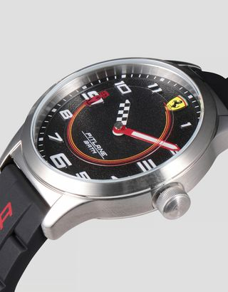 Scuderia Ferrari Online Store - Boys' Pitlane watch with Ferrari Enzo 1:64 scale model - Quartz Watches