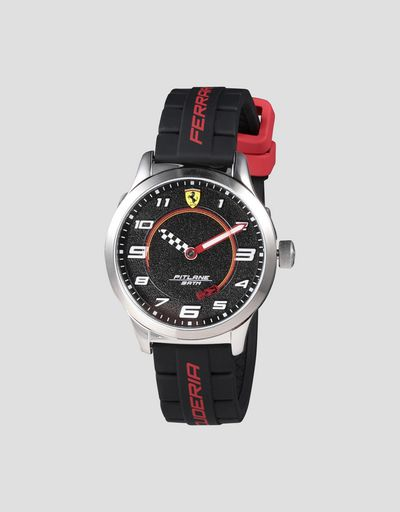 Boys' Pitlane watch with Ferrari Enzo 1:64 scale model