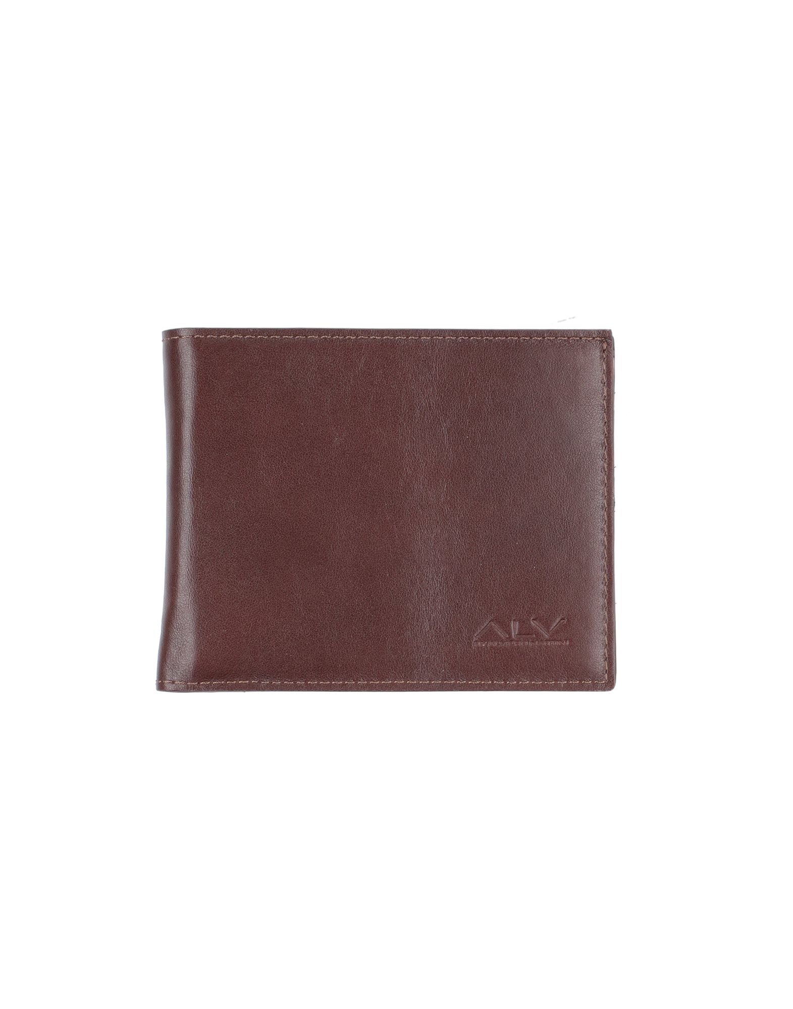 HOGAN Wallets. leather, nappa leather, logo, solid color, fully lined, internal card slots, contains non-textile parts of animal origin. Soft Leather