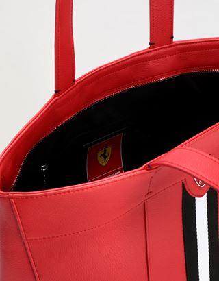 Scuderia Ferrari Online Store - Evo Livery women's shopper bag - Tote Bags