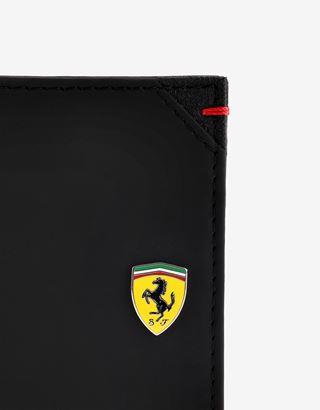 Scuderia Ferrari Online Store - ハイパーフォーミュラ ホリゾンタルウォレット コインポケット付き メイド・イン・イタリー - 横長コインウォレット