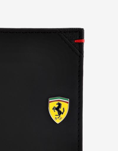 Scuderia Ferrari Online Store - Hyperformula horizontal wallet with coin pocket, Made in Italy - Horizontal with coin Wallets