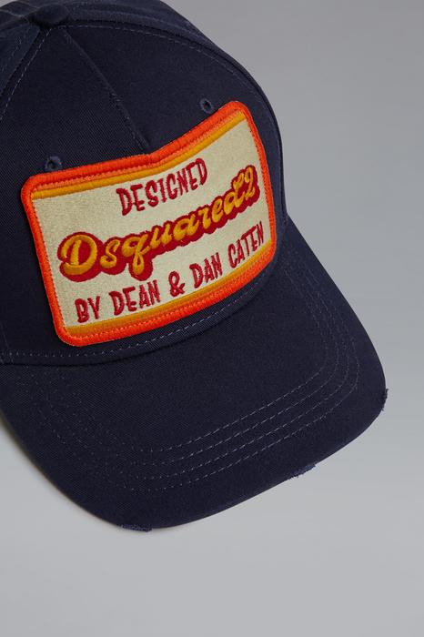 DSQUARED2 Homme Chapeau Noir Taille OneSize 100% Coton
