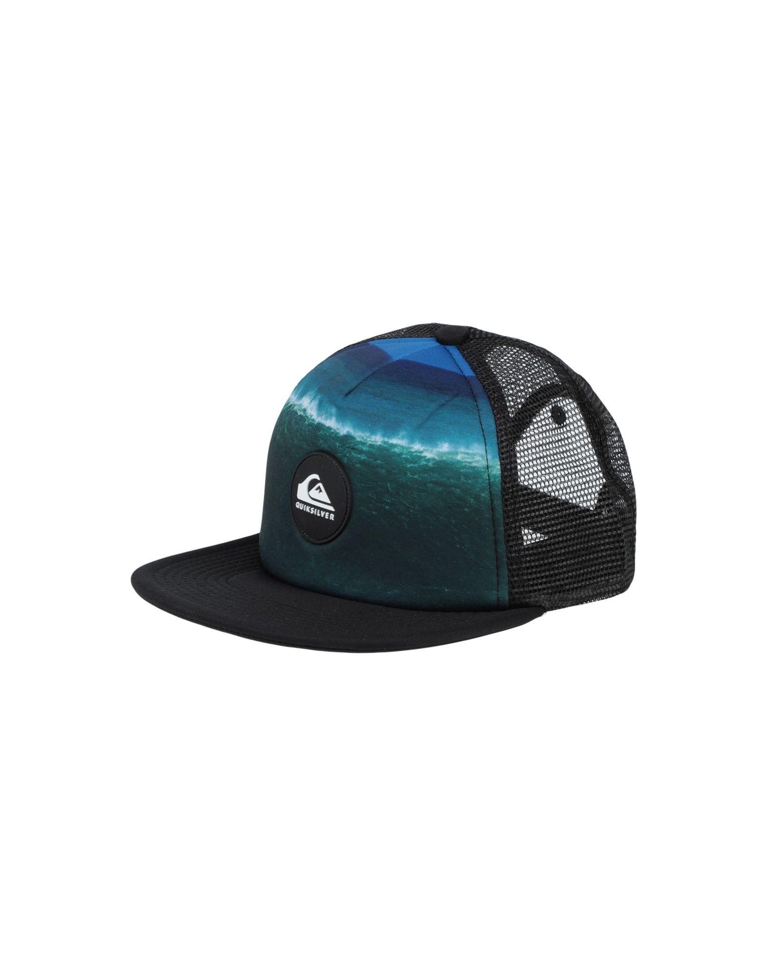 《セール開催中》DC SHOES ボーイズ 9-16 歳 帽子 ブラック one size ポリエステル 100% QS Boy's Cappellino Psychic Patterns Youth