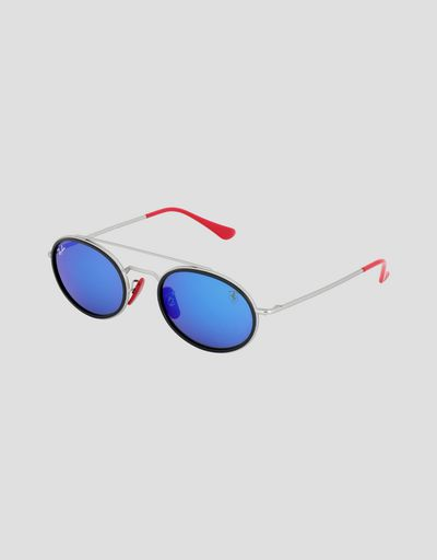 Ray-Ban for Scuderia Ferrari 0RB3847M with mirrored lenses