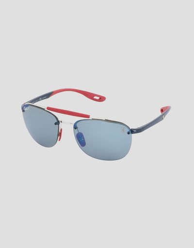 Ray-Ban for Scuderia Ferrari with Chromance polarized lenses RB3662M