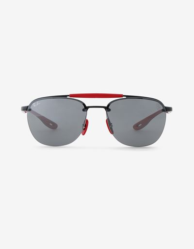 Ray-Ban for Scuderia Ferrari RB3662M with mirrored lenses