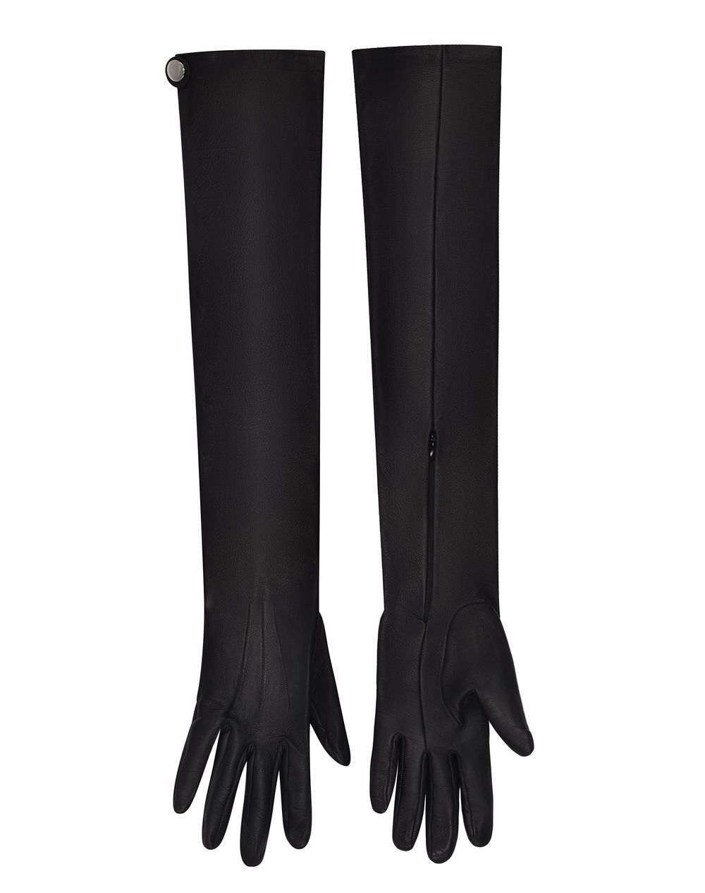 LONG OPERA GLOVES IN NAPPA LEATHER - Lanvin