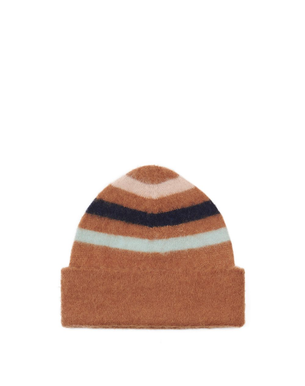 STRIPED HAT IN CASHMERE BLEND - Lanvin