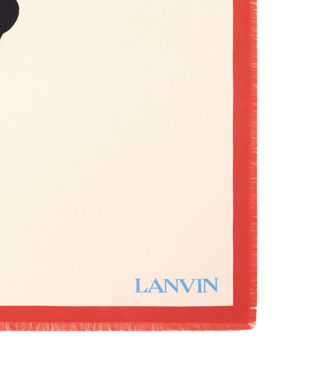 BABAR THE KING PRINT SILK SQUARE SCARF - Lanvin