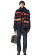 LANVIN Scarf Man STRIPED SCARF IN CASHMERE BLEND f