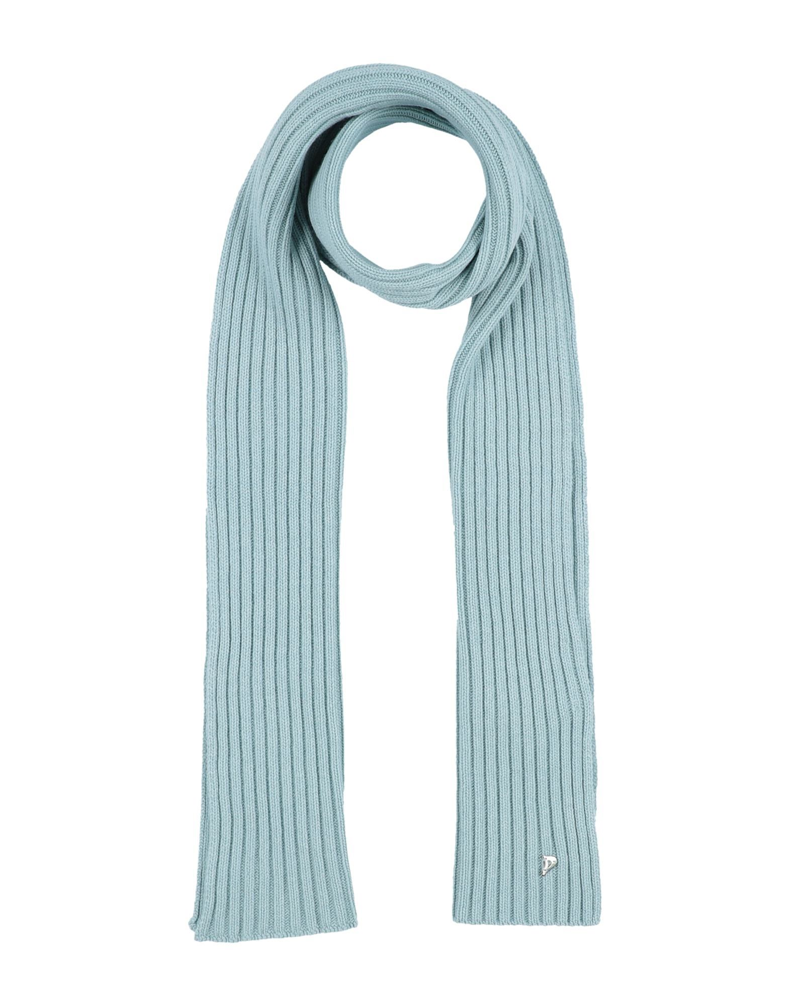 DONDUP Scarves. knitted, no appliqués, basic solid color, medium-weight knit, hand wash, dry cleanable, iron at 110degree c max, do not bleach, do not tumble dry. 40% Merino Wool, 30% Viscose, 20% Polyamide, 10% Cashmere