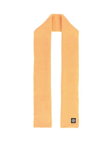 STONE ISLAND N15B5 Scarf Man Orange EUR 183