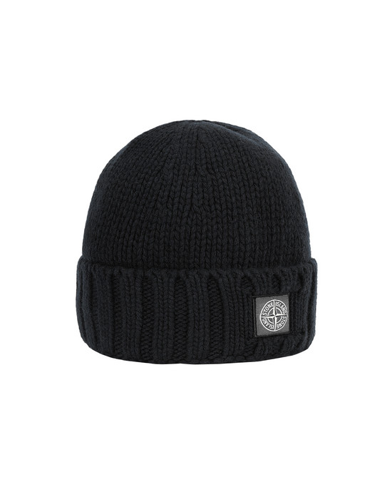 Sold out - STONE ISLAND N17D6 Hat Man Black