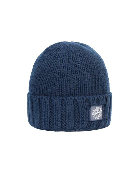 STONE ISLAND N17D6 Hat Man Marine Blue