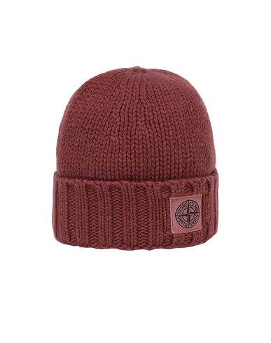 STONE ISLAND N17D6 Hat Man Dark Burgundy USD 163