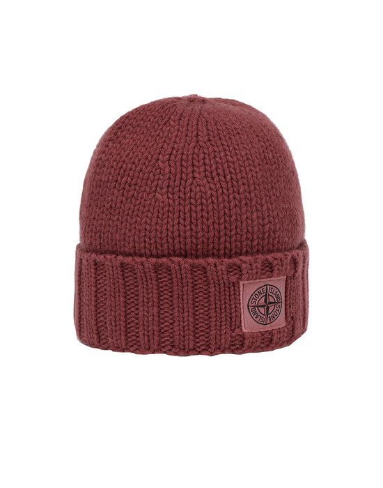 STONE ISLAND N17D6 Hat Man Dark Burgundy