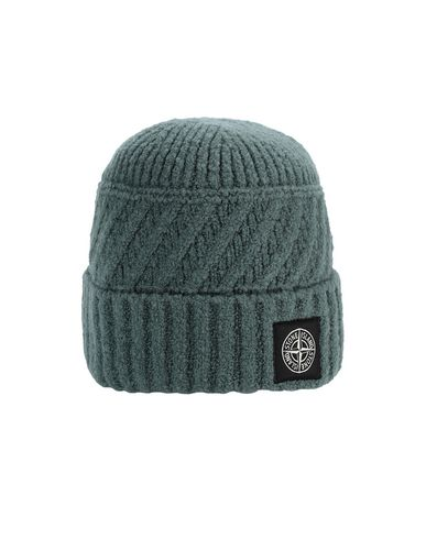 STONE ISLAND N03D5 Hat Man Sage Green USD 114