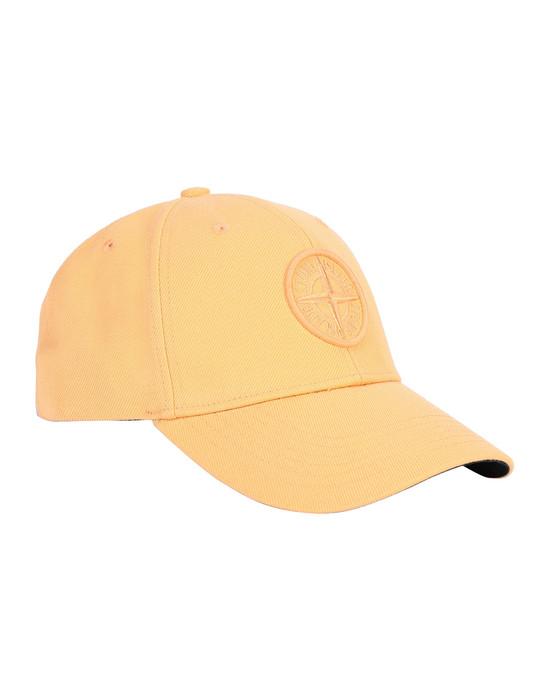 STONE ISLAND 99175 Cap Man Orange