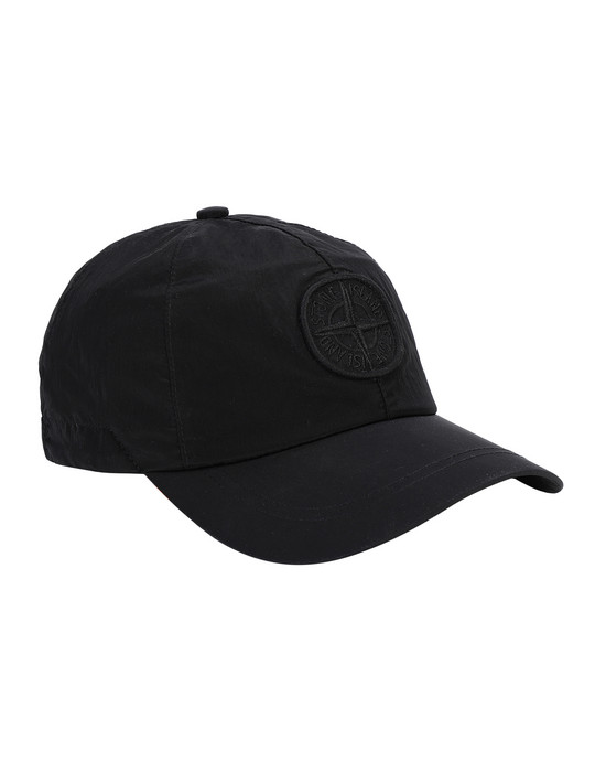 STONE ISLAND 99576 NYLON METAL Cap Man Black